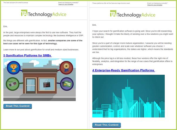 email marketing segmentation case study