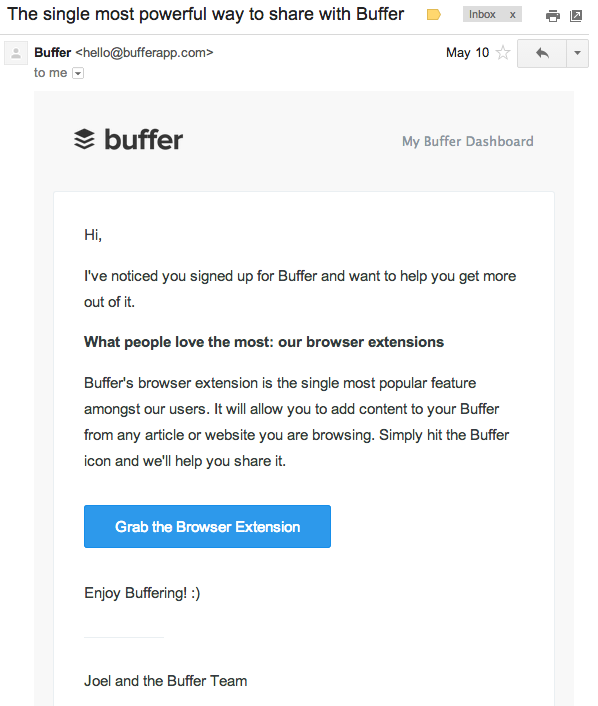 buffer-lifecycle-email