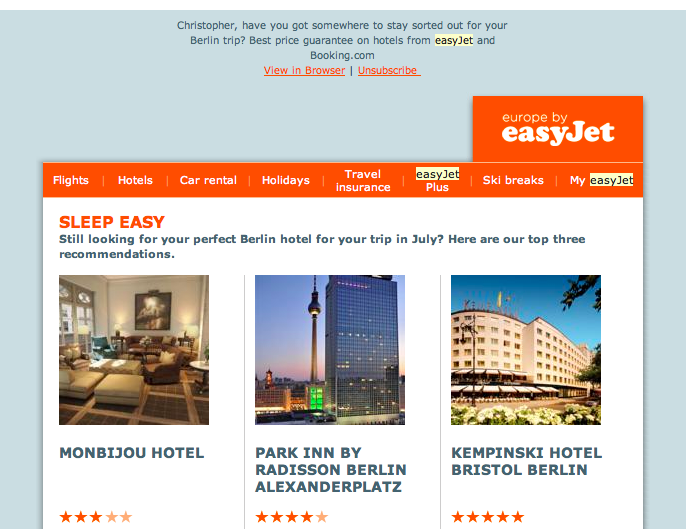 easyjet-email-example