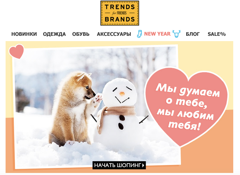 Trends Brands email