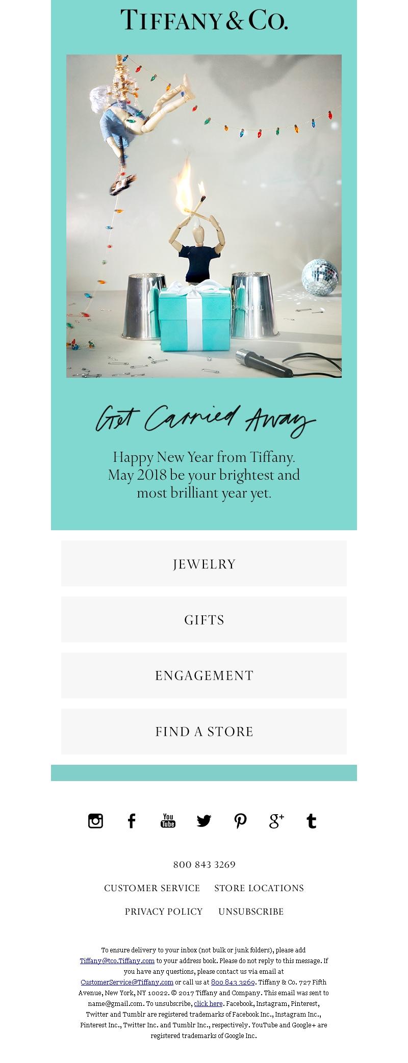 примеры новогодних рассылок