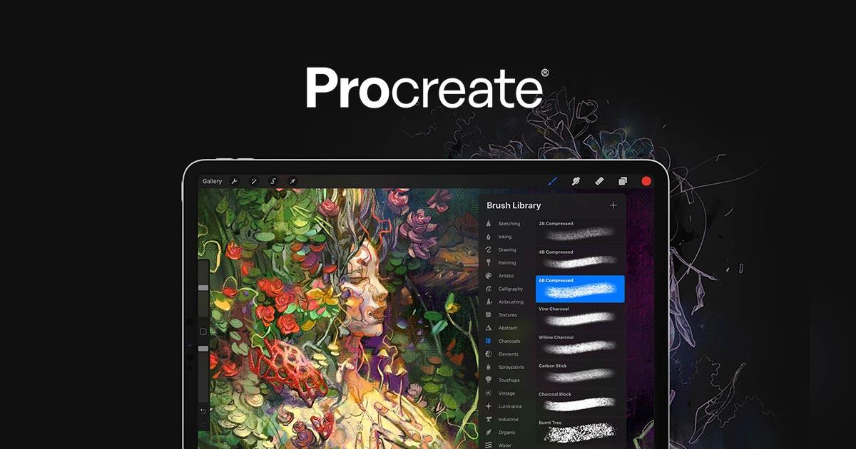 приложение Procreate